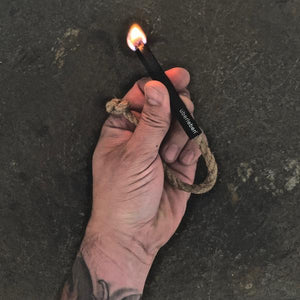 Tindår Wick in hand