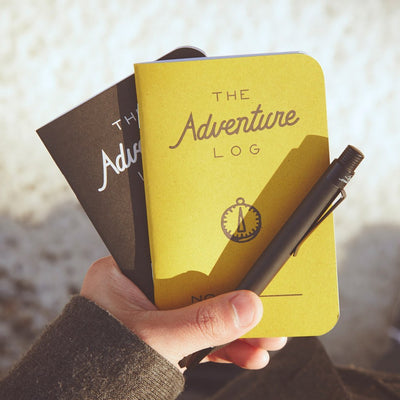 Adventure Log with pen
