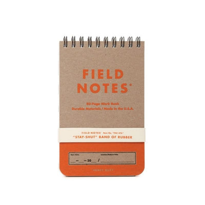 field notes heavy duty in orange