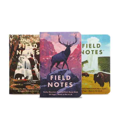 field notes rocky mt collection
