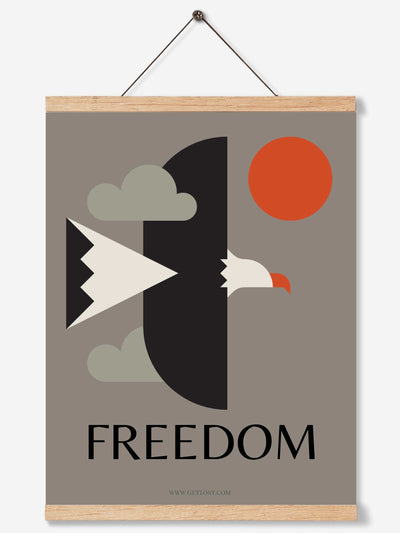 free bird art print by getlost.com