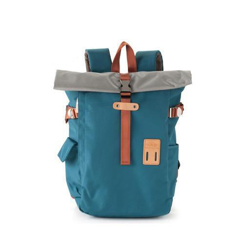 rolltop back pack - arctic blue