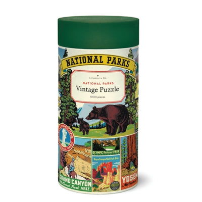 national parks puzzle container