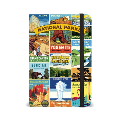 national parks 4 x 6 notebook