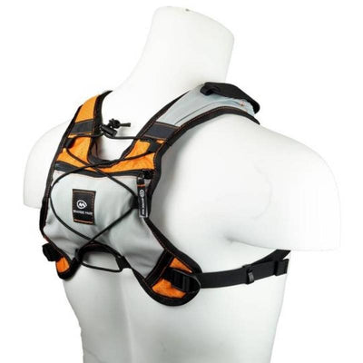 orange mud phone flask vest - orange