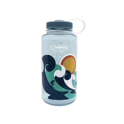 Retro Print Nalgene Bottle