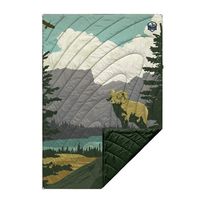 rocky mountain rumpl blanket
