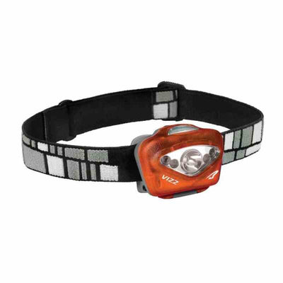 vizz headlamp in orange