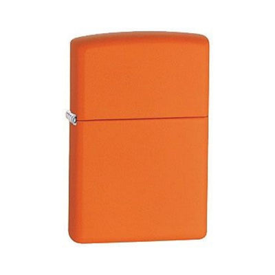 zippo lighter - wind proof orange