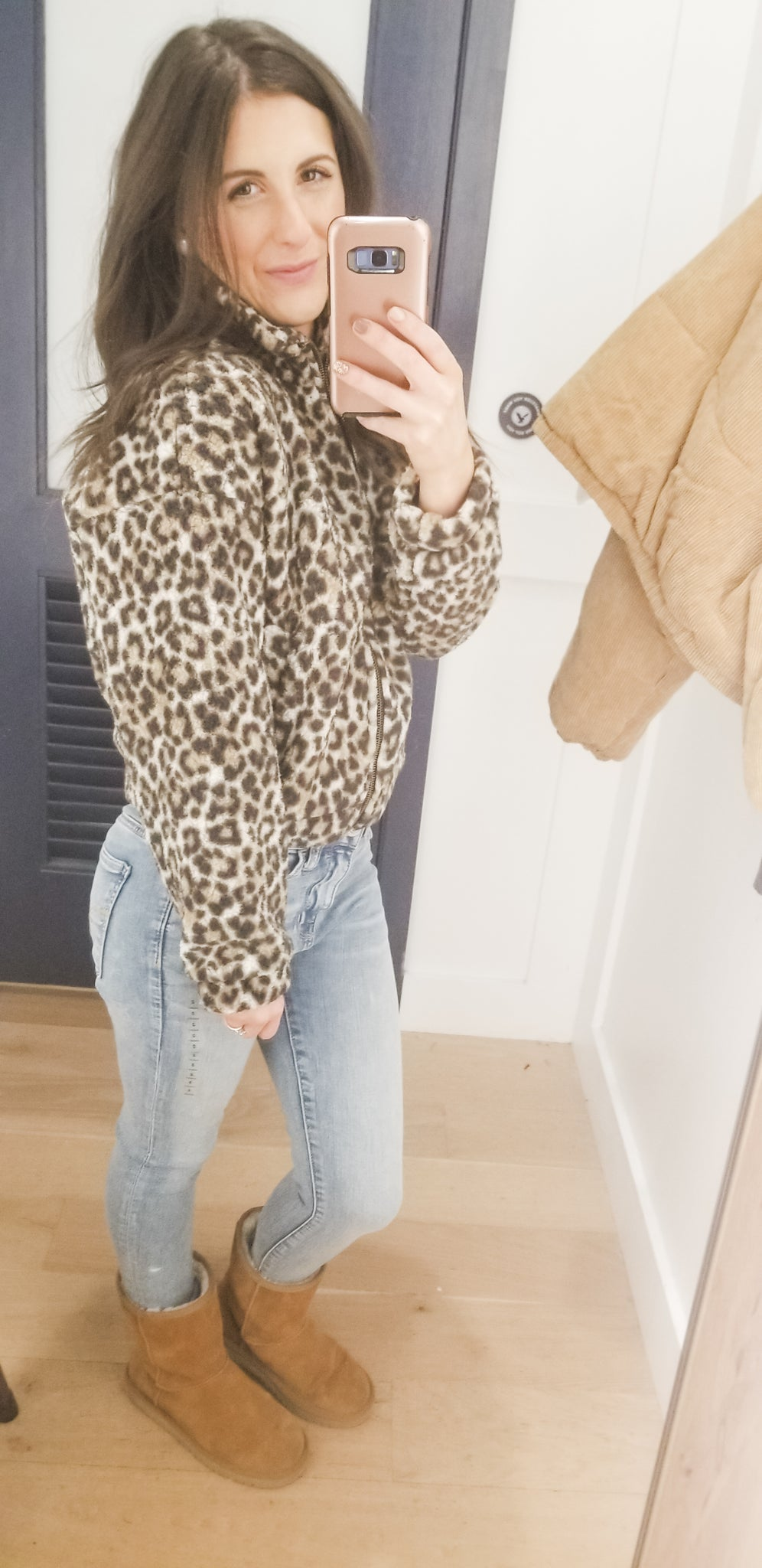 Cheetah Fleece Jacket