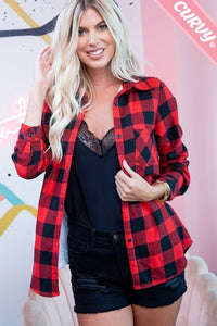 Plaid and Proud Shirt Jacket