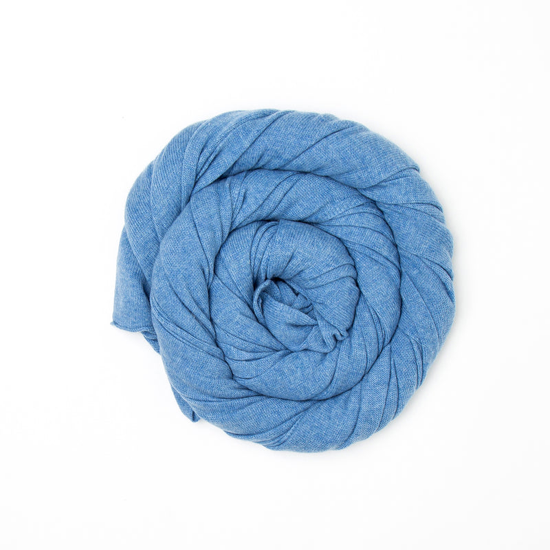 Periwinkle Pure Cashmere Scarf