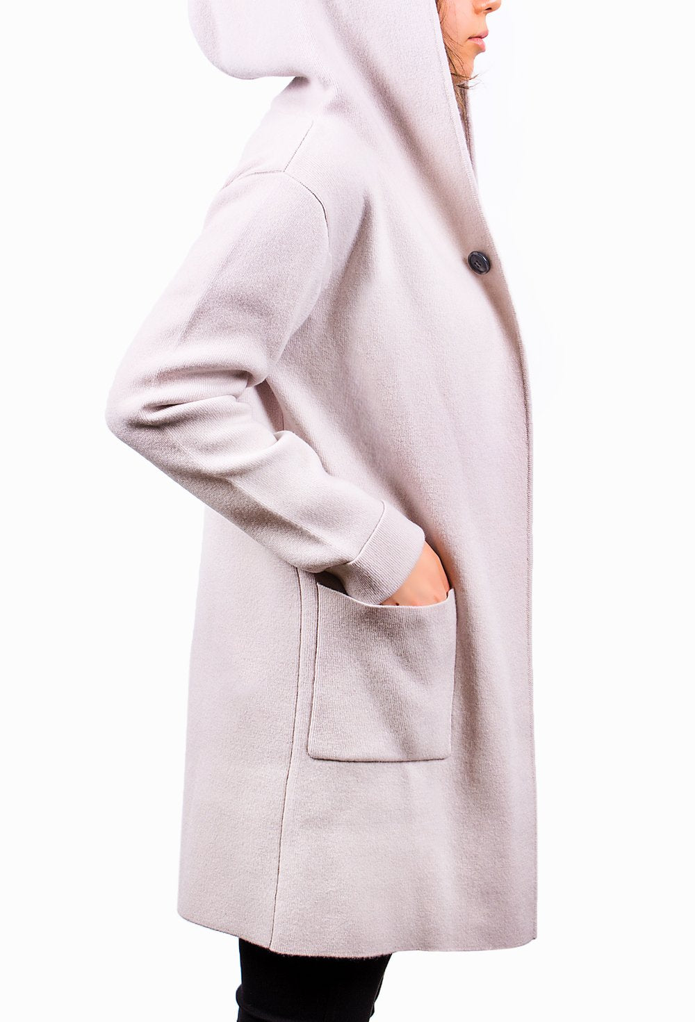 Pink Pure Cashmere Coat