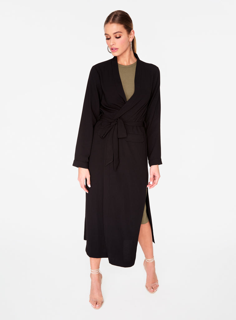 Black Everyday Duster