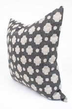 Black & Cream Floral Dot Pillow Cover | Tessa