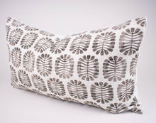 Black & White Abstract Floral Pillow Cover | Celeste