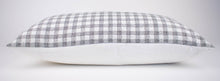 Black & White Gingham Pillow Cover | Julia