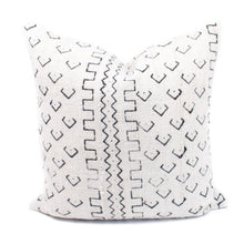 Cream African Mudcloth Pillow Cover | Cecil