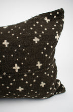 Black African Mudcloth Pillow Cover | Emma