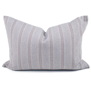 Thai Gray Southwest Stripe Pillow Cover | Lisa