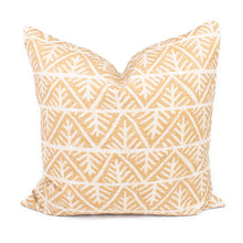 Mustard Yellow Abstract Pillow Cover | Harper