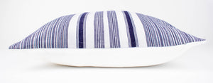 Thai Hmong Hemp Stripe Pillow Cover | Aria