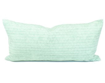 Green Dash Pillow Cover | Isla