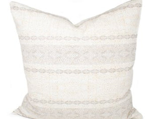 Cream Earthen Pillow Cover | Hayley