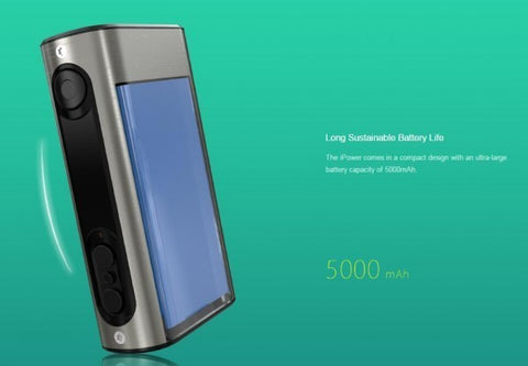ELEAF IPOWER 80W - 5000MAH BOX MOD (MSRP $50.00) - vapthyme