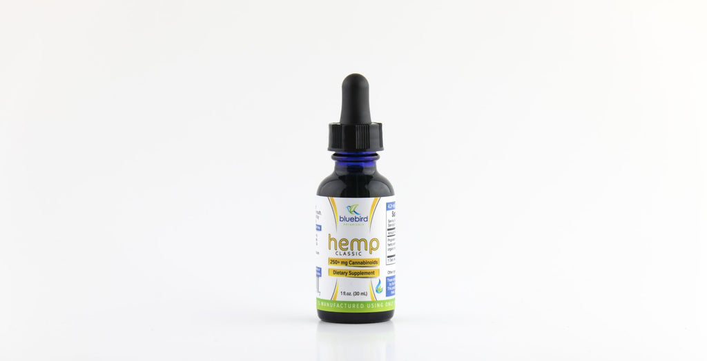 Bluebird Botanicals - Classic Hemp, 2oz/500mg - vapthyme