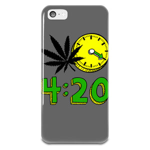420 Cannabis Weed Leaf Design iPhone 5-5s Plastic Case - vapthyme