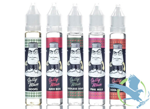 SALTY MAN NICOTINE SALT E-LIQUID 30ML (MSRP $20.00) - vapthyme