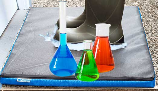 Choosing an appropriate disinfectant for foot mat