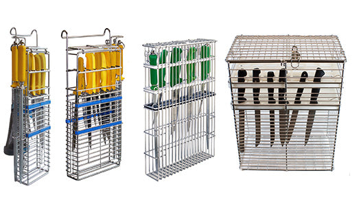 Knife Baskets - the solution for knife storage