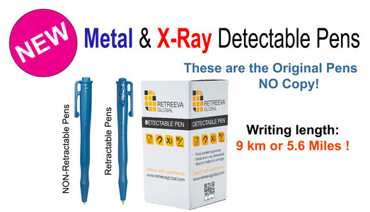 NEW Metal & X-Ray Detectable Pens