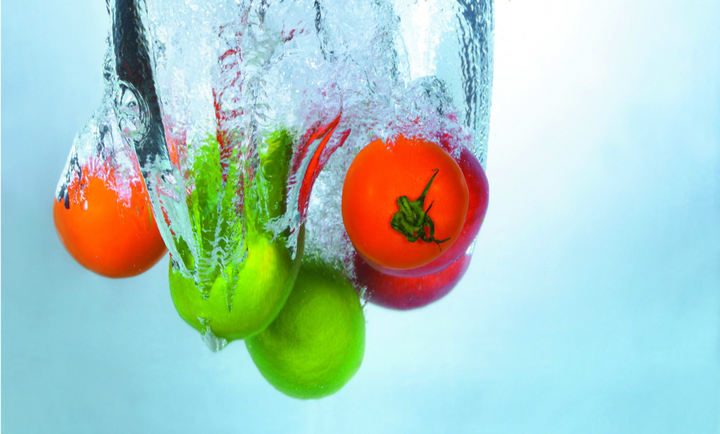 Ozonated Water Keeps Fruit Fresh
