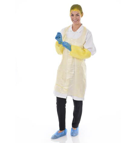 Disposable PE Aprons (L62742B)