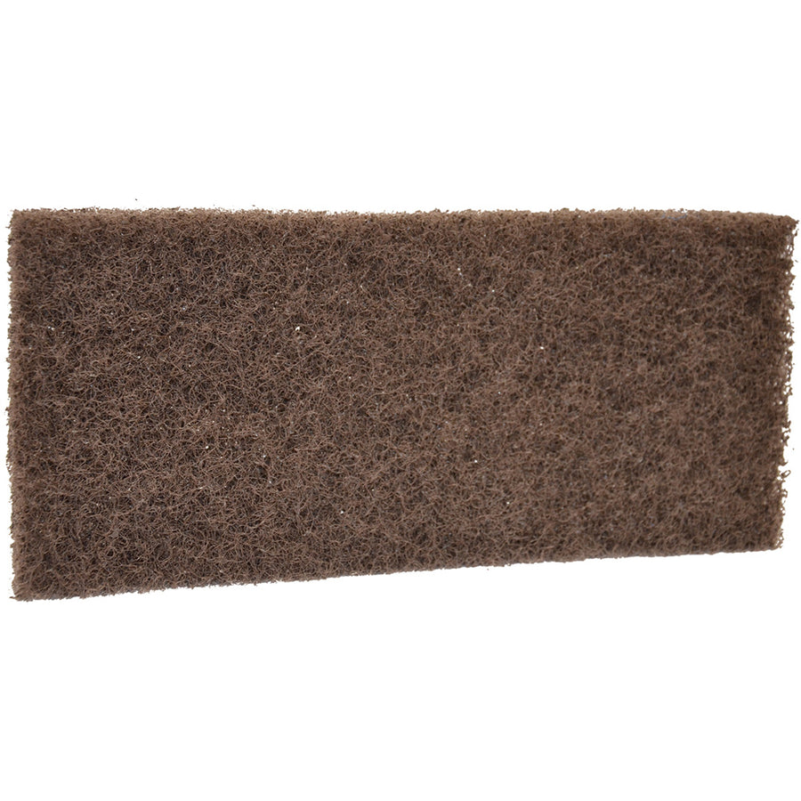 Very Abrasive Floor Pad, Brown (R5523BR)