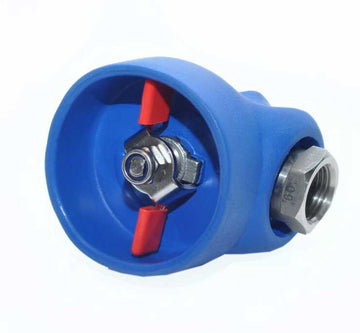 Stainless Steel Ball Valve in Rubber Cover (CABV201)