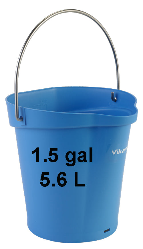 Hygienic 1.5 gal Bucket with measurement scale (V5688)