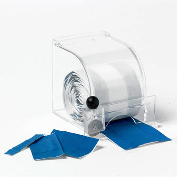 Plastic Dispenser with cutter and Universal Bandage 2.4