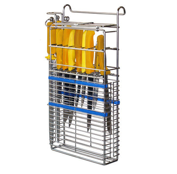 Knife Basket ULTIMATE for 8 knives, 2 steels and 1 mesh glove (KBU82G)
