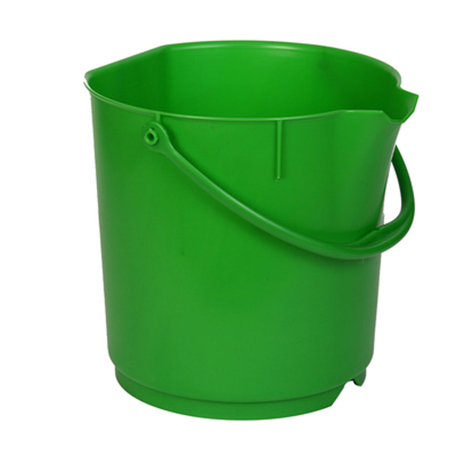 4 gallon Heavy Duty PP Bucket (MBK15) - Shadow Boards & Cleaning Products for Workplace Hygiene | Atesco Industrial Hygiene