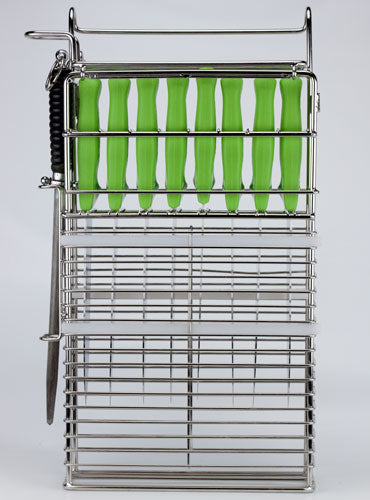 Knife Basket ULTIMATE for 8 knives and 2 steels (KBU82)