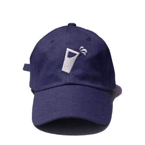 JUICE MOM AND DAD CAPS (NAVY)
