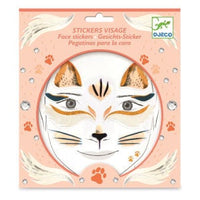 Face Stickers-Cat