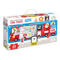 Make/Match Puzzle - Fire Truck