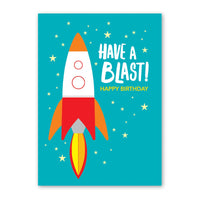 Birthday Card - Rocket