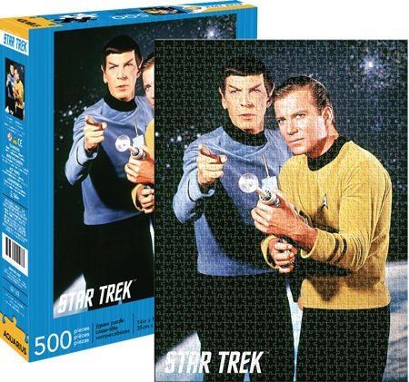 Star Trek Spok & Kirk 500pc
