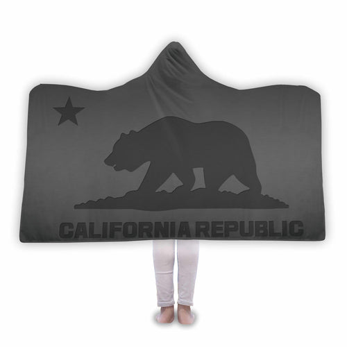 California Republic Hooded Blanket